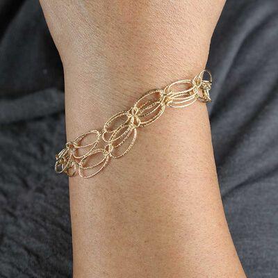 Toscano Double Strand Bracelet 14K