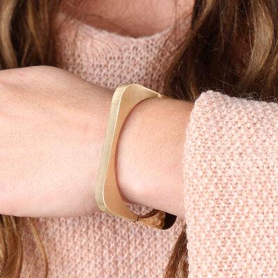 Toscano Square Bangle Bracelet 14K