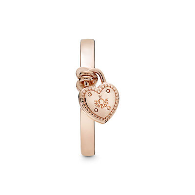 PANDORA Rose™ Love Lock Ring