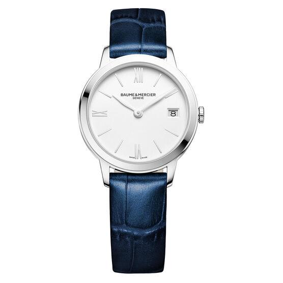 Baume & Mercier CLASSIMA Blue Strap Watch 31mm