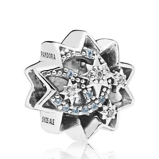 Pandora Disney, When You Wish Upon A Star Enamel & Crystal Charm