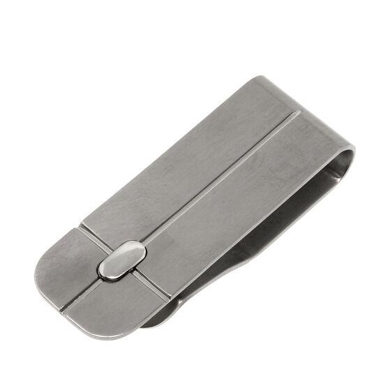 Money Clip in Titanium