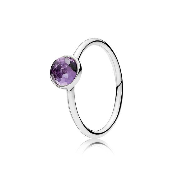 PANDORA February Droplet Ring