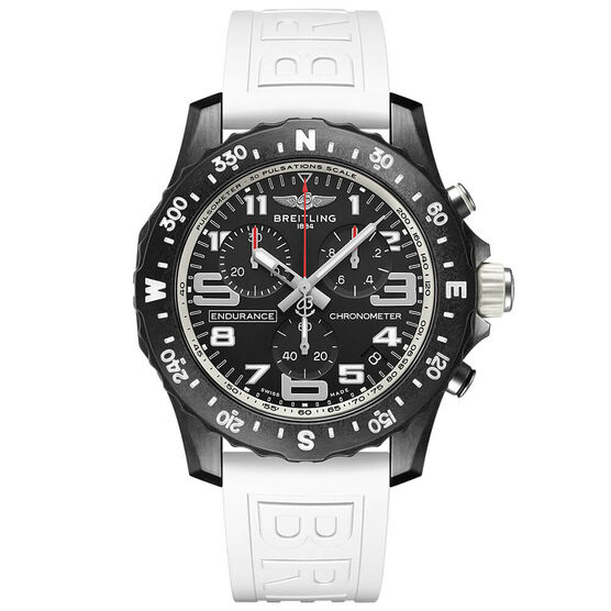 Breitling Endurance Pro Breitlight White Rubber Watch, 44mm