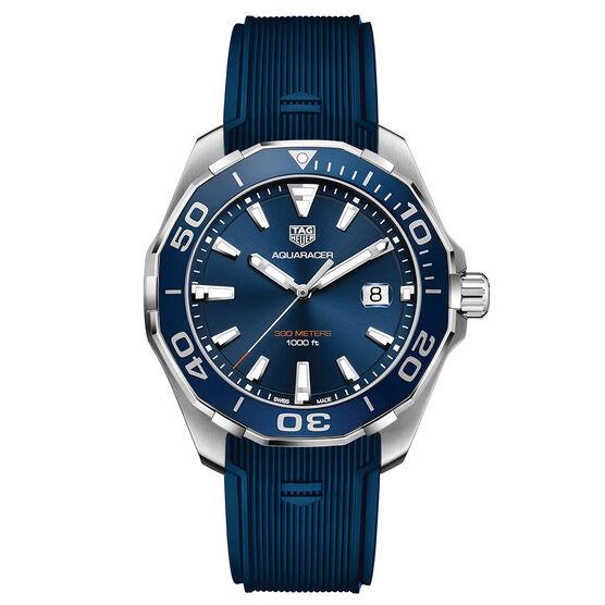 TAG Heuer Aquaracer Quartz Blue Watch 43mm
