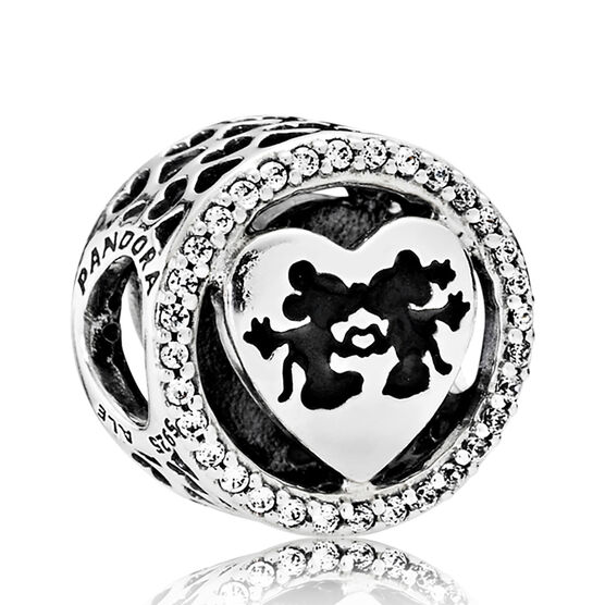 PANDORA Disney, Mickey & Minnie Love Charm