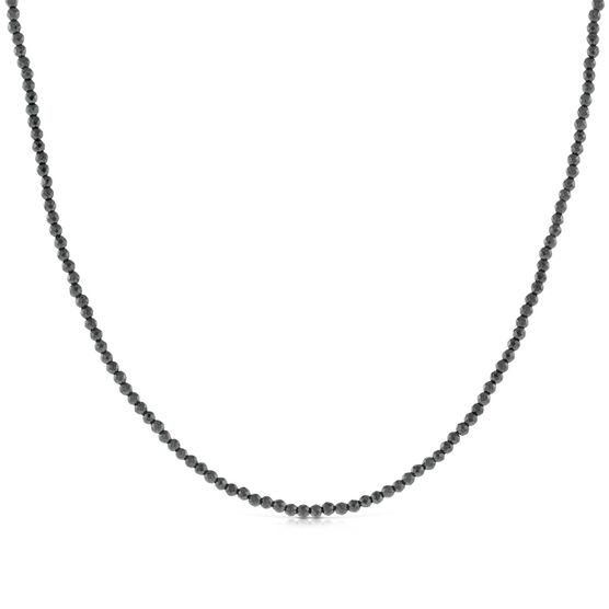 Lisa Bridge Hematite Bead Necklace