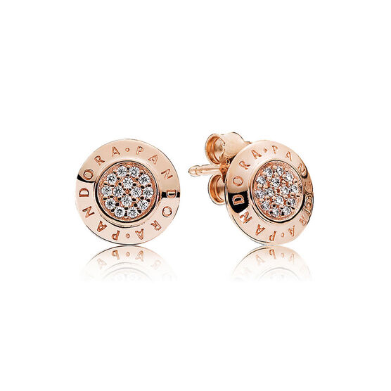 Pandora Rose Signature Earrings 280559cz Ben Bridge