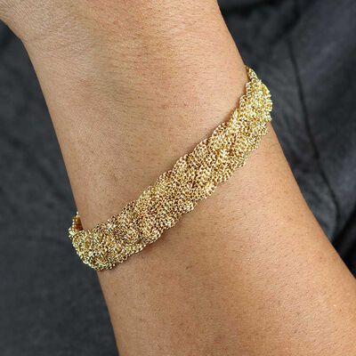 Toscano Braided Bracelet 14K