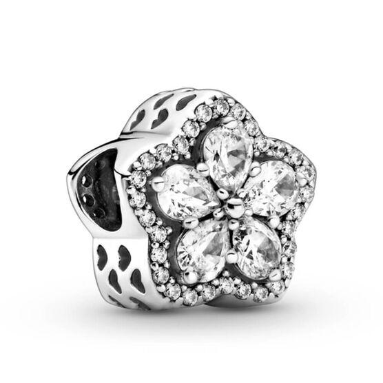 Pandora Sparkling Snowflake Pavé CZ Charm