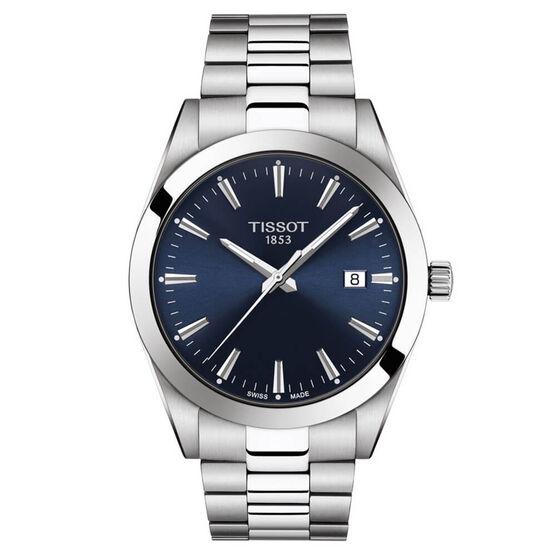 Tissot Gentleman Blue Dial Watch, 40mm