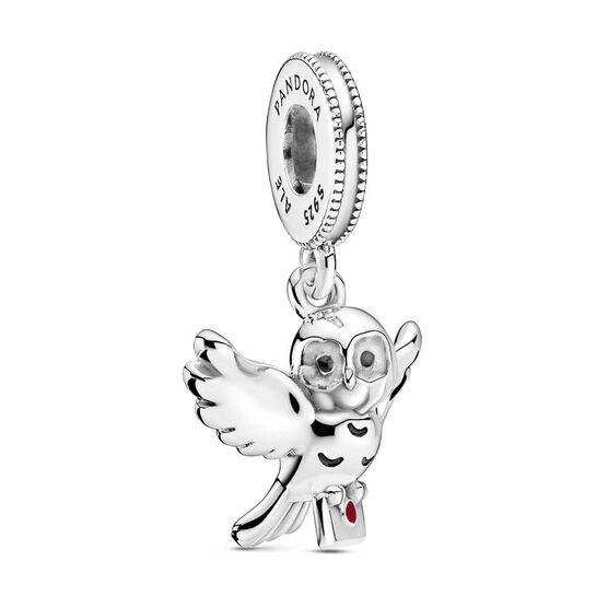 Pandora Harry Potter, Hedwig Owl Enamel Dangle Charm