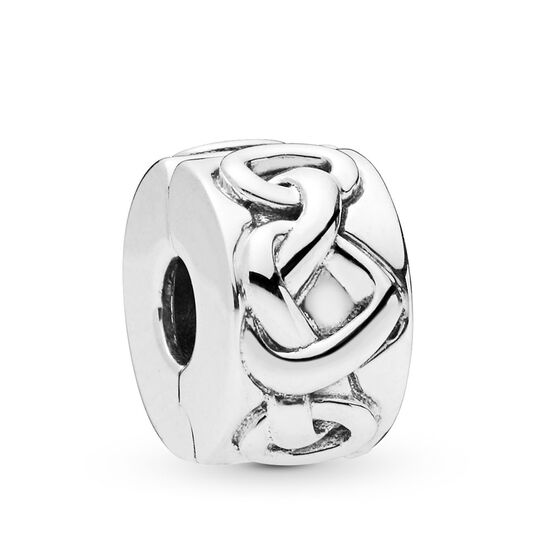 Pandora Knotted Heart Clip