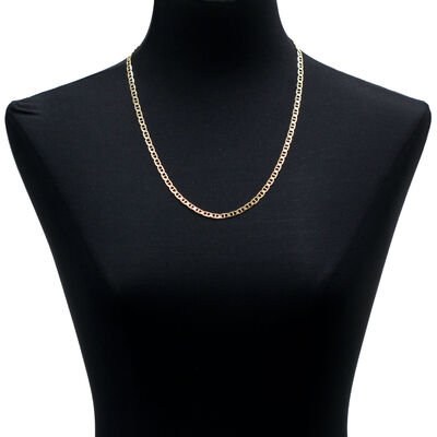 "Mariner Link Chain Necklace 14K, 24"""