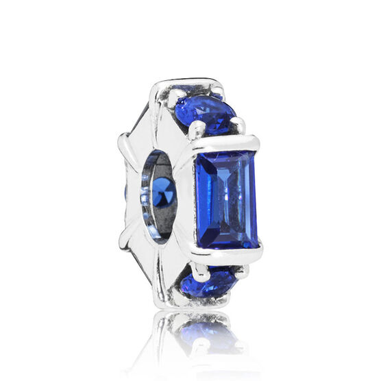 PANDORA Ice Sculpture Blue Crystal Spacer