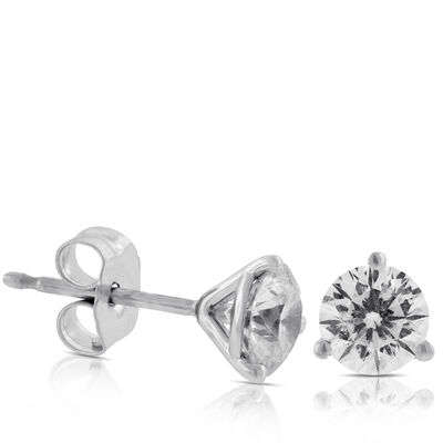 Signature Forevermark Diamond Earrings 18K, 1 ctw.