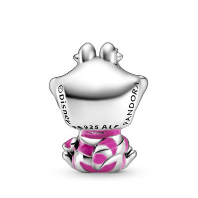 Pandora Disney Alice in Wonderland Cheshire Cat Enamel Charm