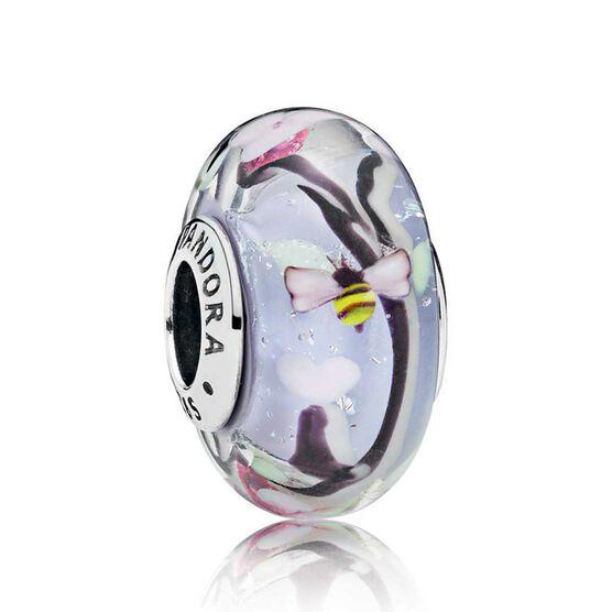 Pandora Enchanted Garden Murano Glass Charm 797014 Ben