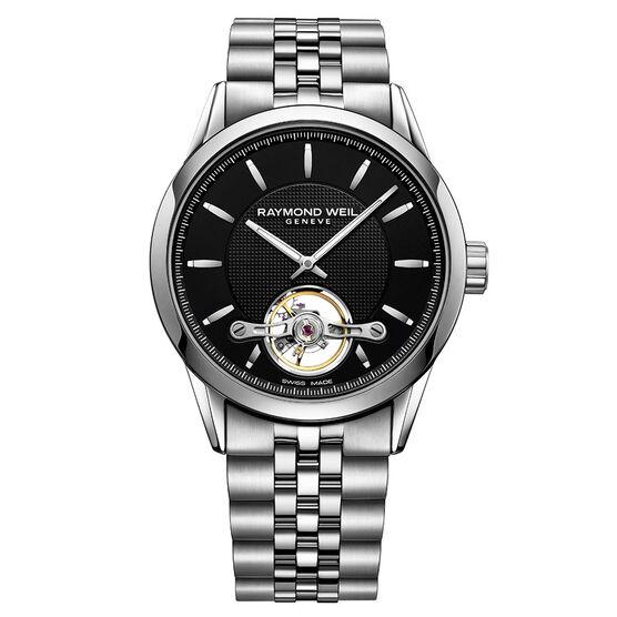 Raymond Weil Freelancer Open Balance Wheel Watch, 42.5mm