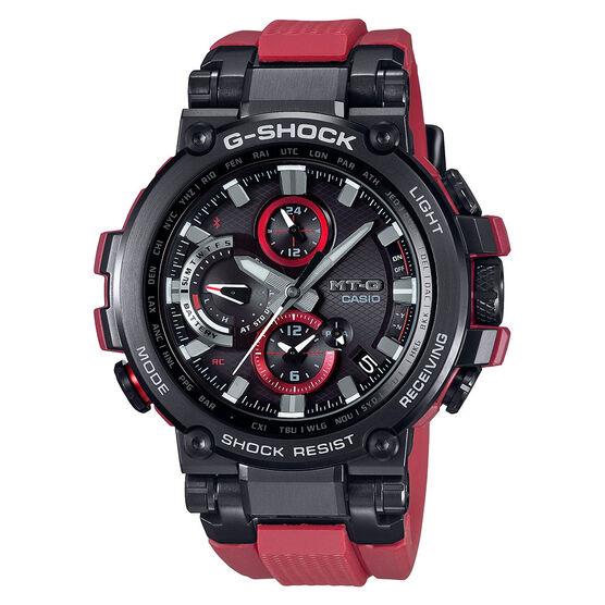 G-Shock Limited Edition MT-G Red Bluetooth Solar Watch, 55.8mm