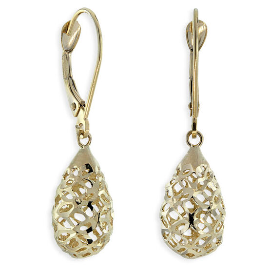 Filigree Earrings 14K