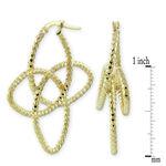 Floral Earrings 14K