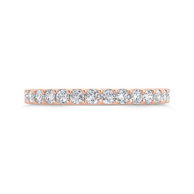Bella Ponte Rose Gold Diamond Band 14K, 1/2 ctw.