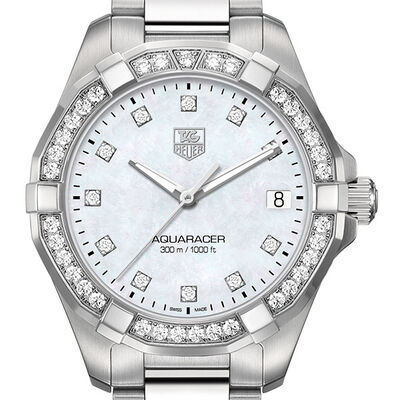 TAG Heuer Diamond Aquaracer Quartz Watch