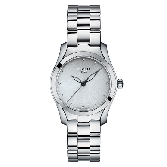 Tissot T-Wave T-Lady Diamond Markers Quartz Watch