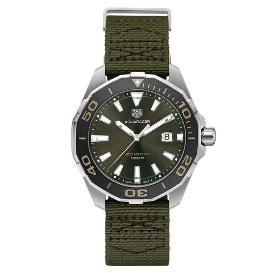 TAG Heuer Aquaracer Khaki Quartz Watch, 43mm