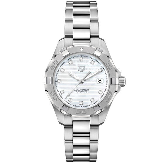 TAG Heuer Aquaracer Diamond  Caliber 9 Automatic Watch