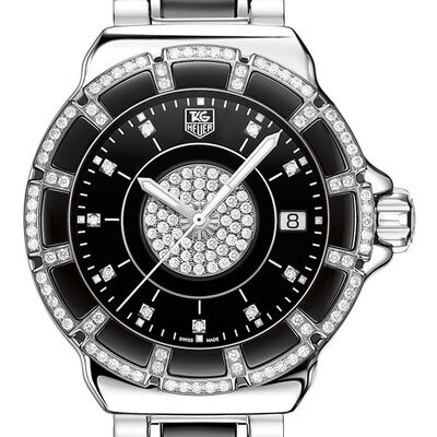 TAG Heuer Formula 1 Quartz Watch with Diamonds