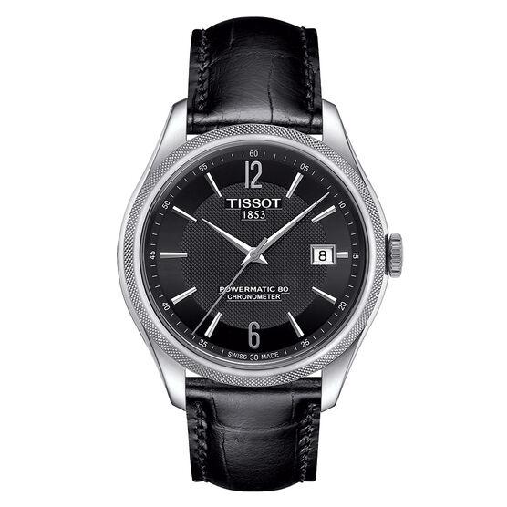 Tissot Ballade Powermatic 80 COSC Black Dial Watch, 39mm