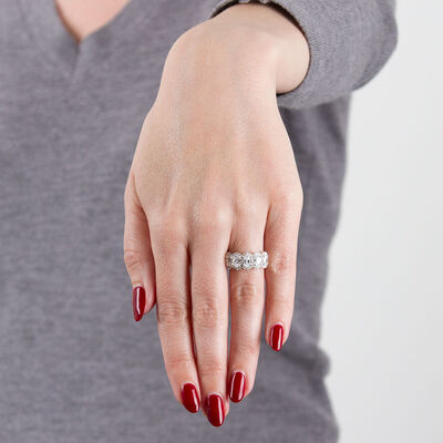 Oval Diamond Ring 14K