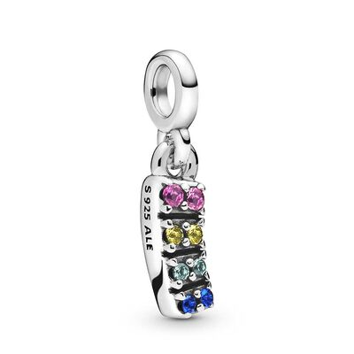 Pandora Me My Pride Crystal Dangle Charm