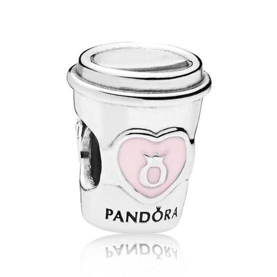 Pandora Drink to Go Enamel Charm
