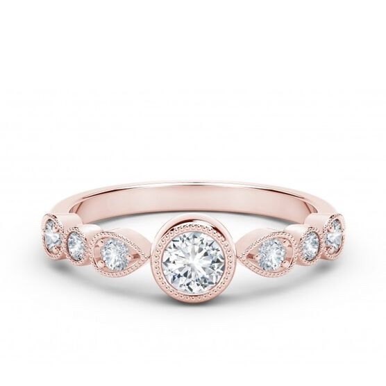 The Forevermark Tribute™ Collection Rose Gold Diamond Band 18K