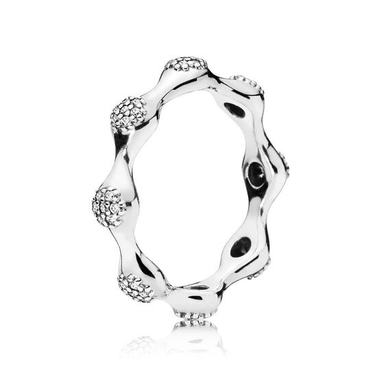 Pandora Modern LovePods™ CZ Ring