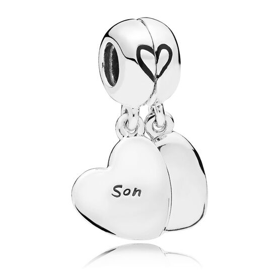 Pandora Mother & Son Love Dangle Enamel Split Charm