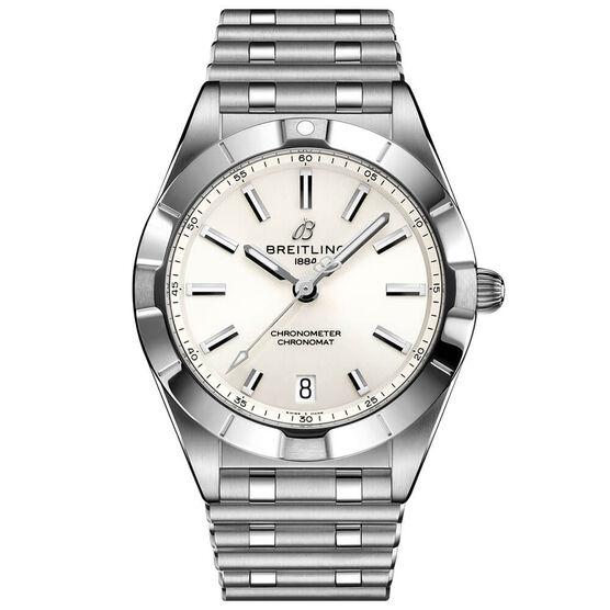 Breitling Chronomat 32 White Steel Watch, 32mm
