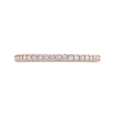 Bella Ponte Rose Gold Diamond Band 14K, 1/5 ctw.