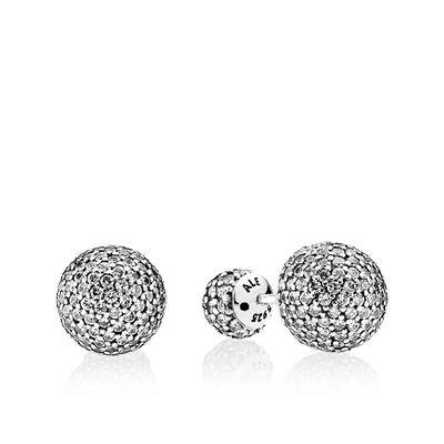 PANDORA Pavé Drops Reversible CZ Earrings
