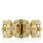 Roberto Coin Pois Moi Link Ring 18K