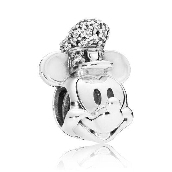 PANDORA Disney, Shimmering Steamboat Willie CZ Charm