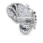 Pandora Dazzling Blue Crystal & CZ Butterfly Pendant