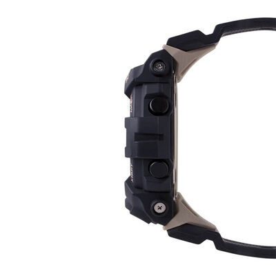 G-Shock G-Squad Rose Detailed Black Digital Bluetooth Watch, 50.7mm