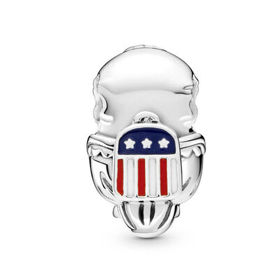 Pandora Places American Bald Eagle Enamel Charm