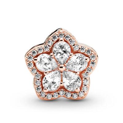 Pandora Rose™ Sparkling Snowflake Pavé CZ Charm