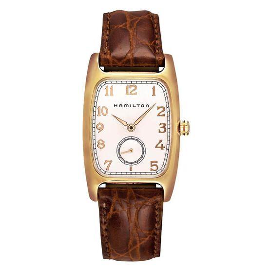 Hamilton Boulton Quartz Watch, 27x31.6mm