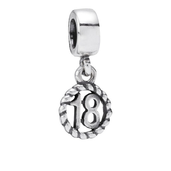 PANDORA 18th Birthday Charm